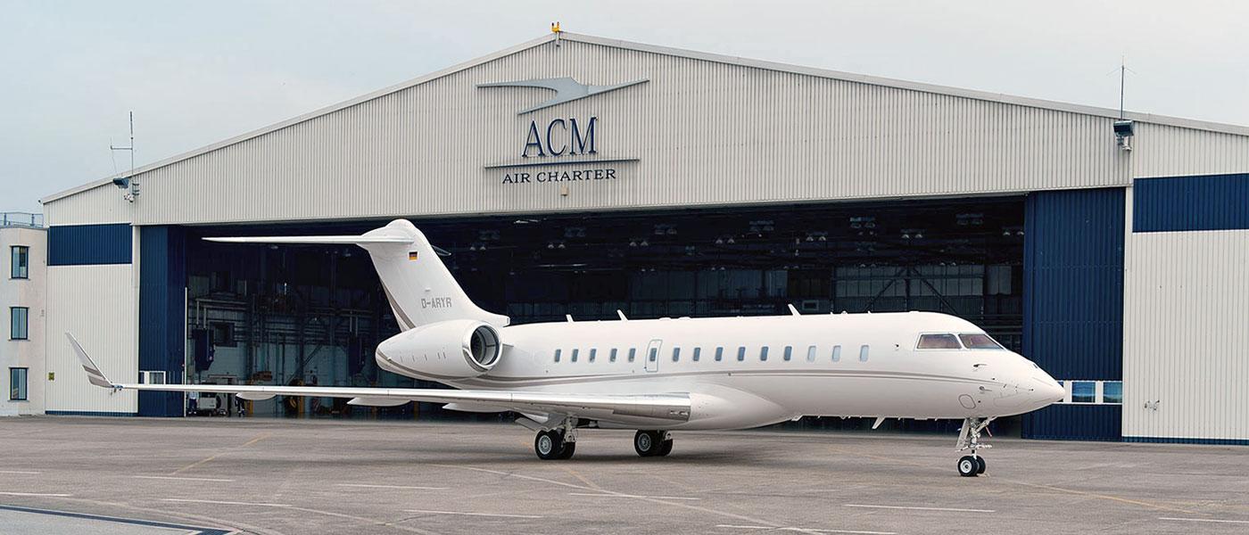 ACM Air Charter Baden Airpark · Art Crash Werbeagentur Karlsruhe
