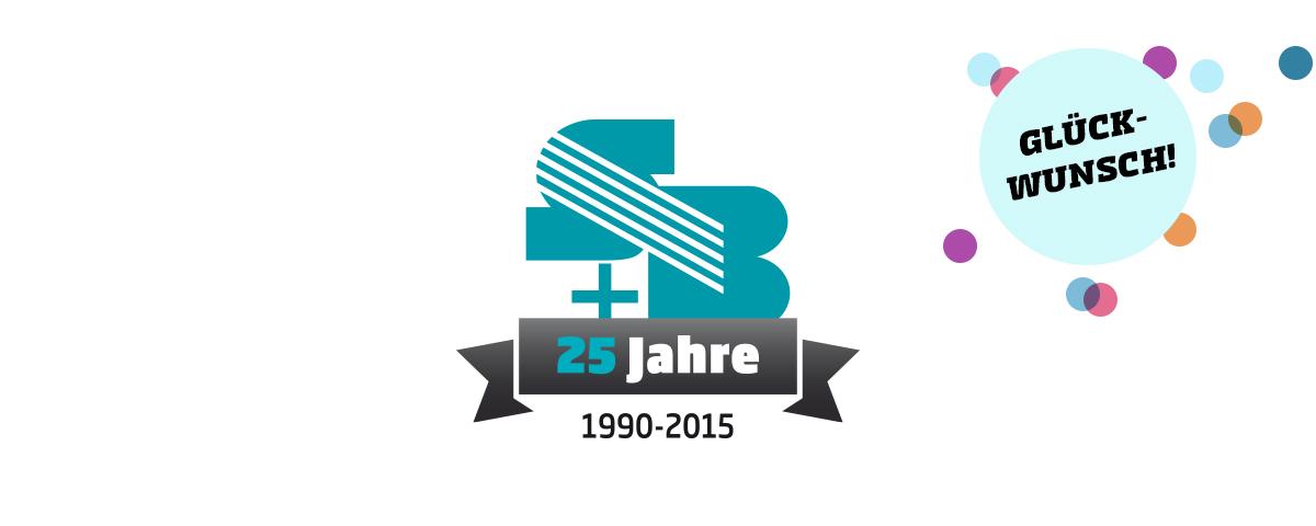 25 Jahre S+B · Crash Werbeagentur Karlsruhe