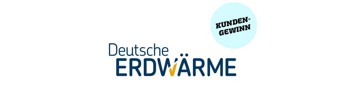 Deutsche Erdwärme · Kundengewinn · Art Crash Werbeagentur Karlsruhe
