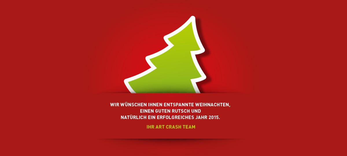 Weihnachten ist da · Art Crash Werbeagentur Karlsruhe