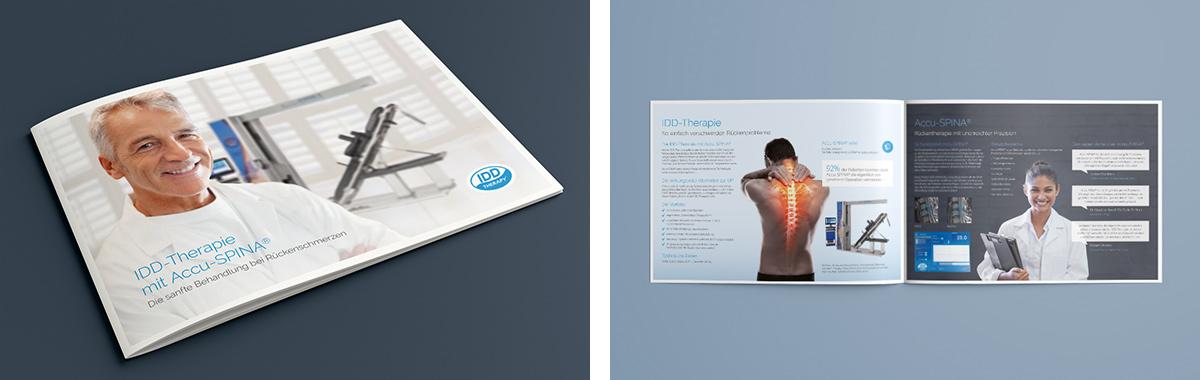 Accu Spina · Produktbroschüre · Broschüre · Design · Gestaltung · Art Crash Werbeagentur Karlsruhe