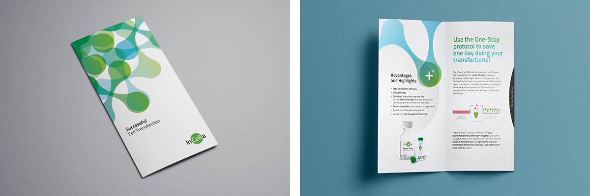 InCella · Produktbroschüre · Broschüre · Design · Gestaltung · Art Crash Werbeagentur Karlsruhe