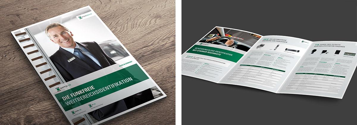 Picosens · Produktbroschüre · Broschüre · Design · Gestaltung · Art Crash Werbeagentur Karlsruhe