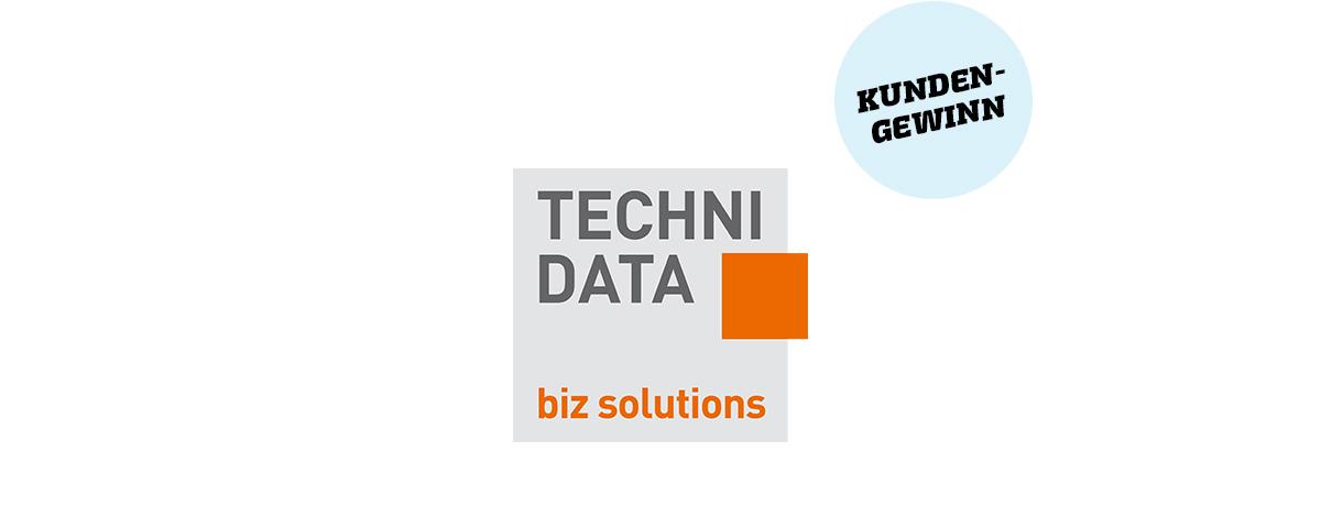 Technidata · Kundengewinn · Art Crash Werbeagentur Karlsruhe