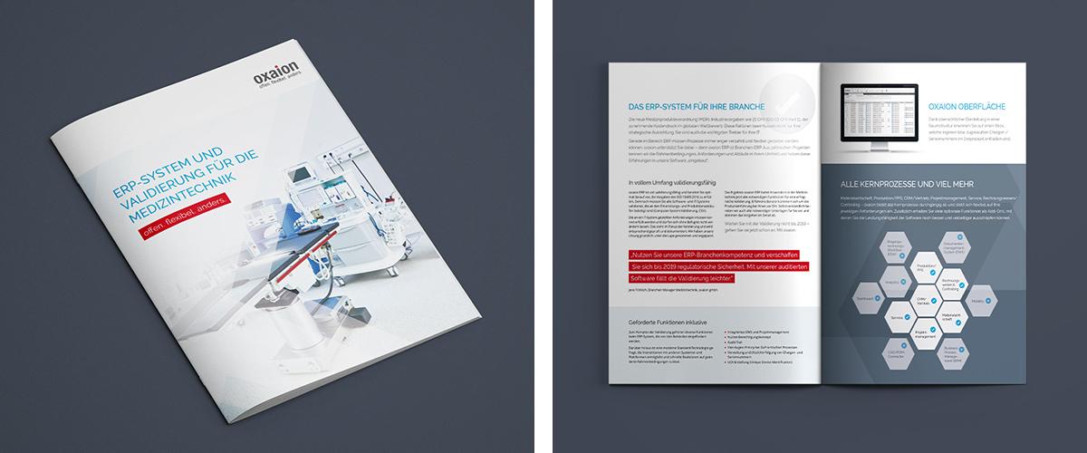 Neue Branchenkommunikation für oxaion · Art Crash Werbeagentur Karlsruhe