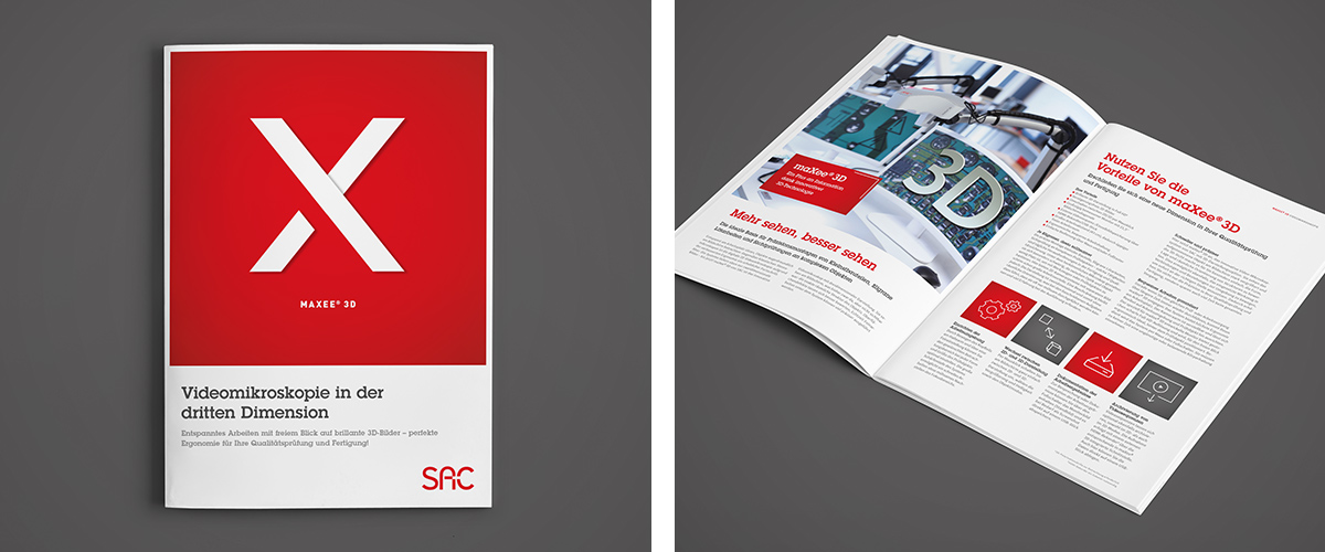 Beste Optik für 3D-Technik von SAC · Art Crash Werbeagentur Karlsruhe